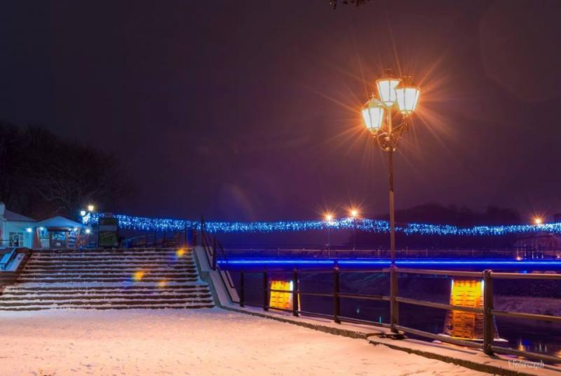 Краса зимового Ужгорода