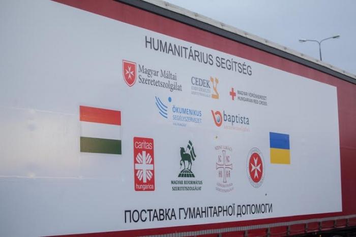 Куди і кому піде гуманітарна допомога від Угорщини
