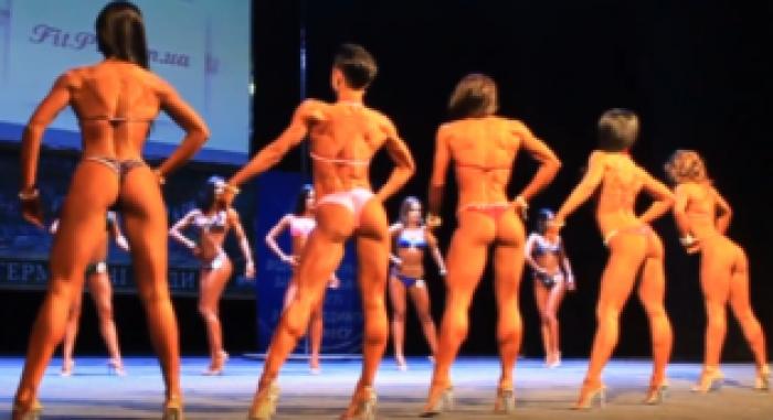 В Ужгороді продемонстрували найкращі жіночі тіла