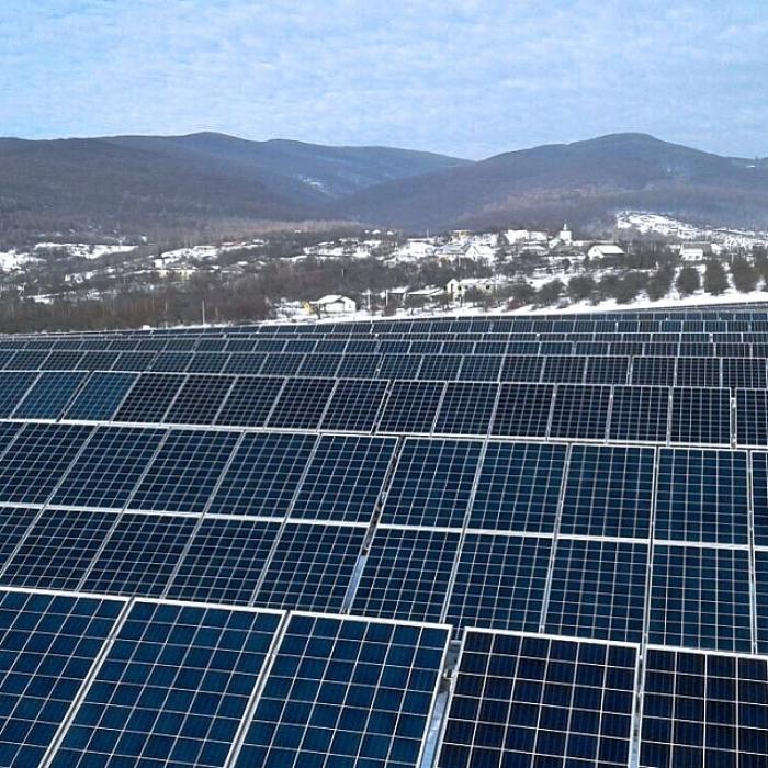 Сонячна електростанція запрацювала на Ужгородщині