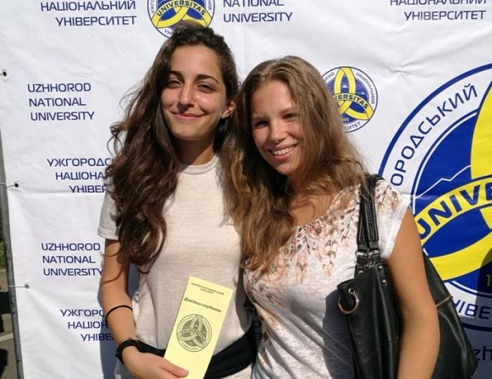 Як живеться і навчається італійкам в Ужгородському університеті