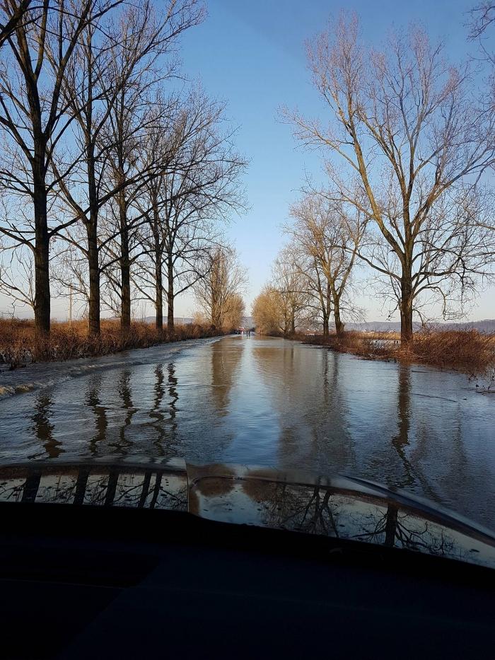 Хоча рівень води у верхів'ях річок Закарпаття пішов на спад, однак паводкові хвилі в низинних районах збільшуються