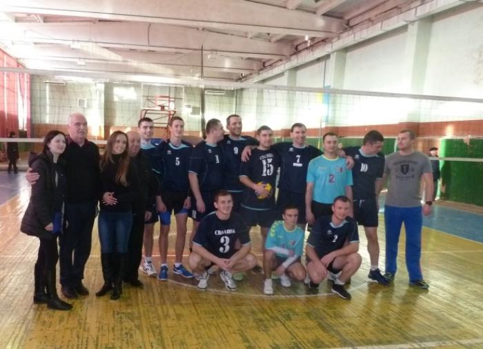 Чемпіони Закарпатської області з волейболу – спартаківці Сваляви