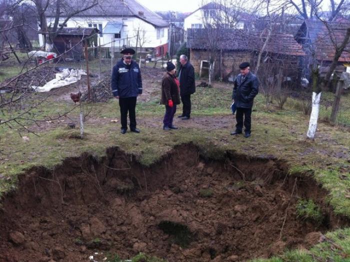 На Іршавщині шахтарське село провалюється під землю