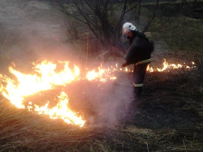 Закарпатці, не спалюйте сухотрав'я – це небезпечно!