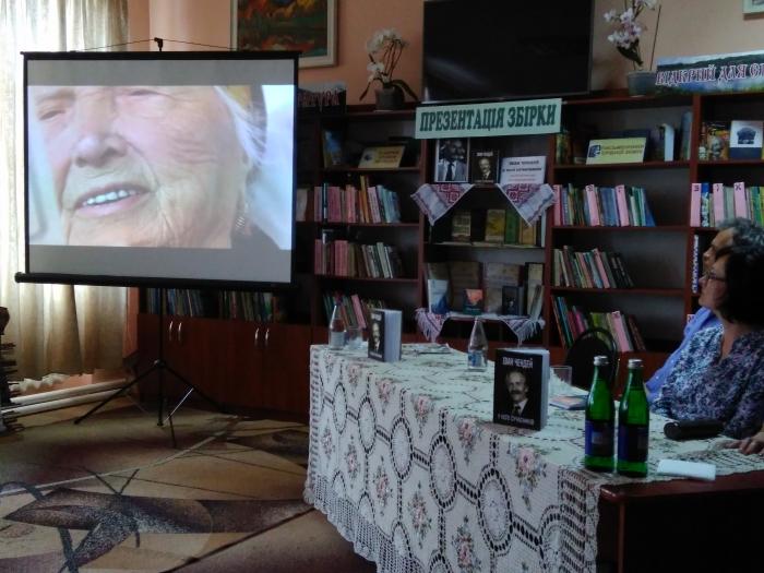 У Тячеві презентували уривки з майбутнього фільму про Івана Чендея