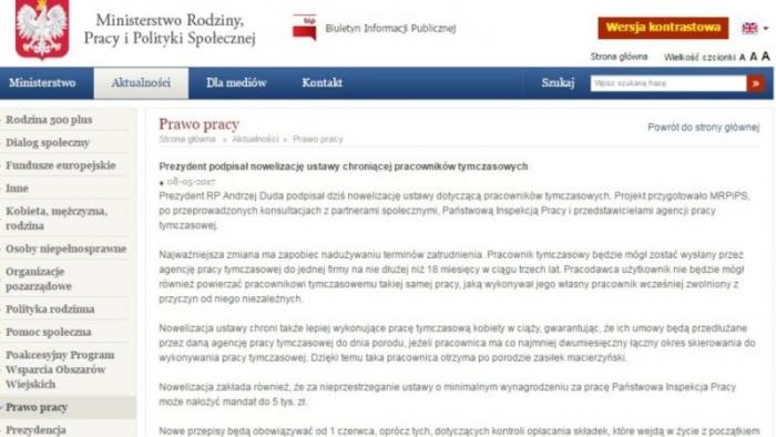 Заробітчанам-закарпатцям про нові правила роботи в Польщі з 1 червня 2017 року