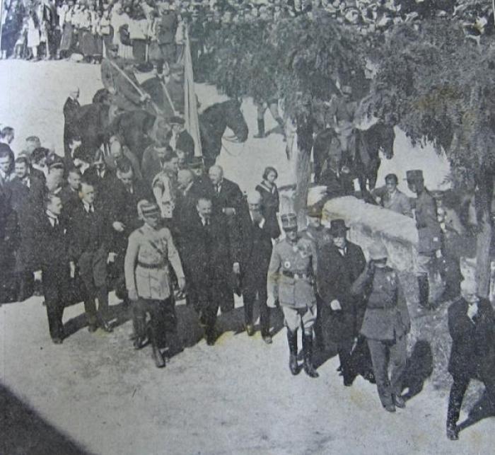 Втрачений Ужгород: як місто у 1921 році зустрічало президента Масарика