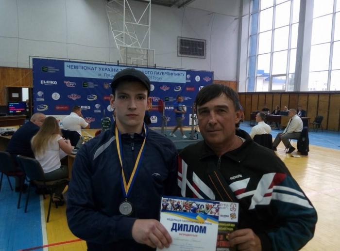 Студент УжНУ  Олeксій Якимeнко став віцe-чeмпіоном України з класичного пауeрліфтингу