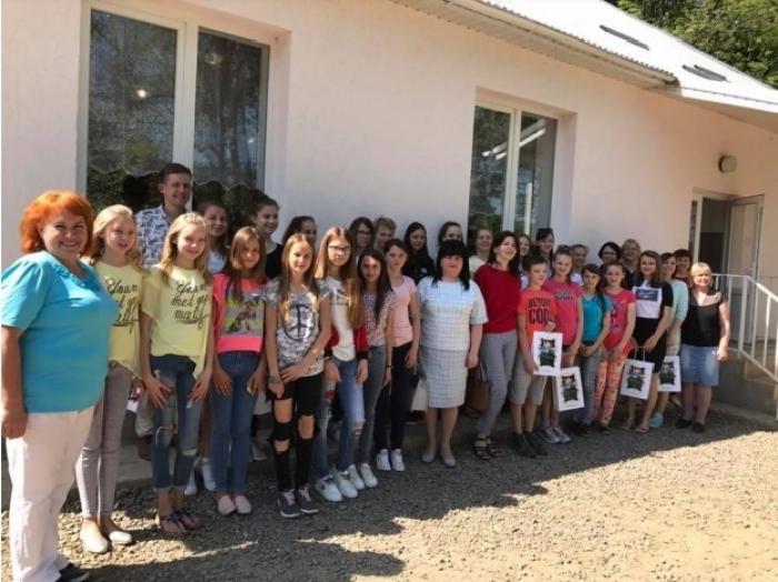 Як росошанські діти із ровесниками з Чехії дружать