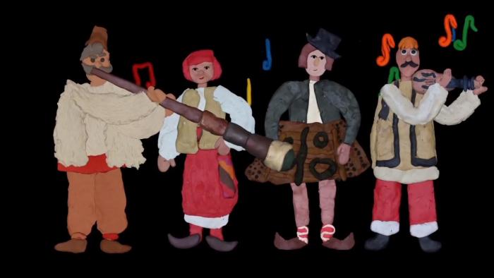 """Діти з Харкова створили """"пластиліновий"""" мультфільм для маленьких закарпатців (ВІДЕО)"""