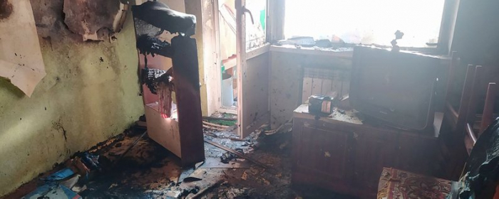 На Берегівщині під час пожежі у власній квартирі загинув 70-річний чоловік